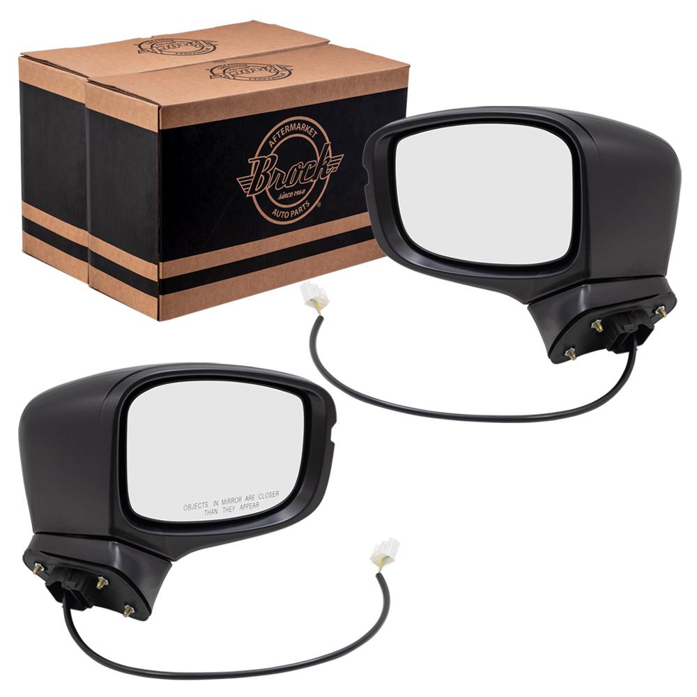 Side Mirror for 2018-2019 HONDA ODYSSEY Power Heated Turn Signal Passenger Right