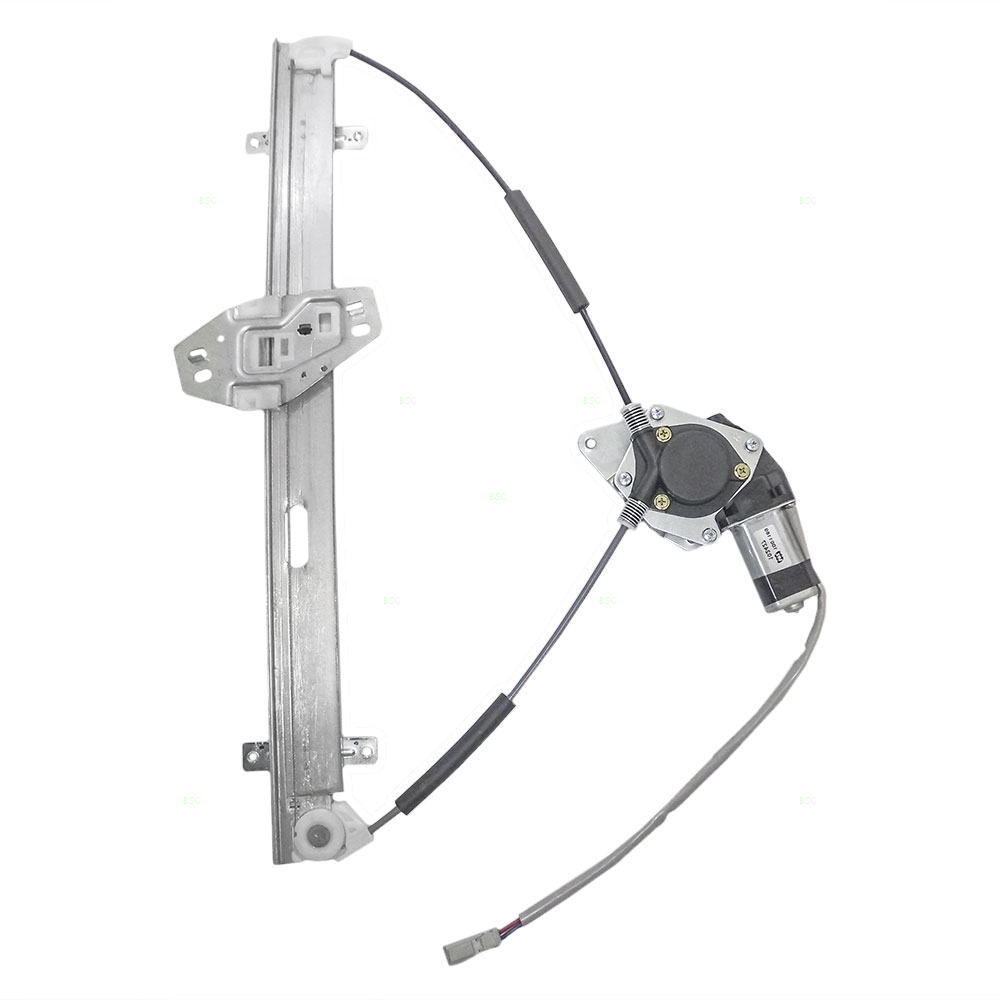 03 08 Honda Pilot Drivers Front Power Window Lift Regulator With 2004 Engine Diagram Motor 6 Pin Connector