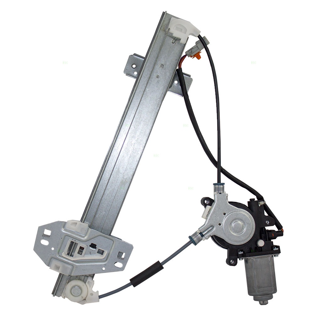 Brock Supply AC RL POWER WINDOW REGULATOR WMOTOR REAR LH - Acura rl window regulator