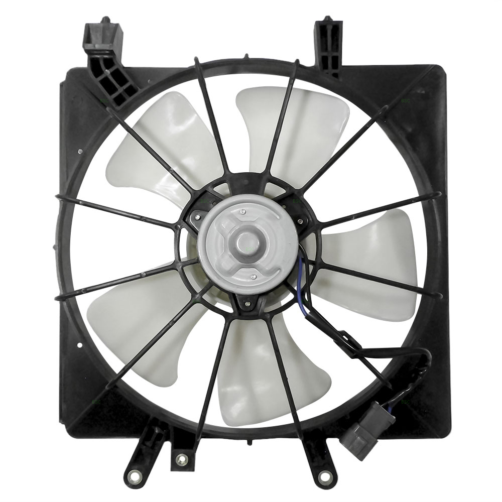 Replacement Motor Cooling Fans : Autoandart honda civic new denso type radiator