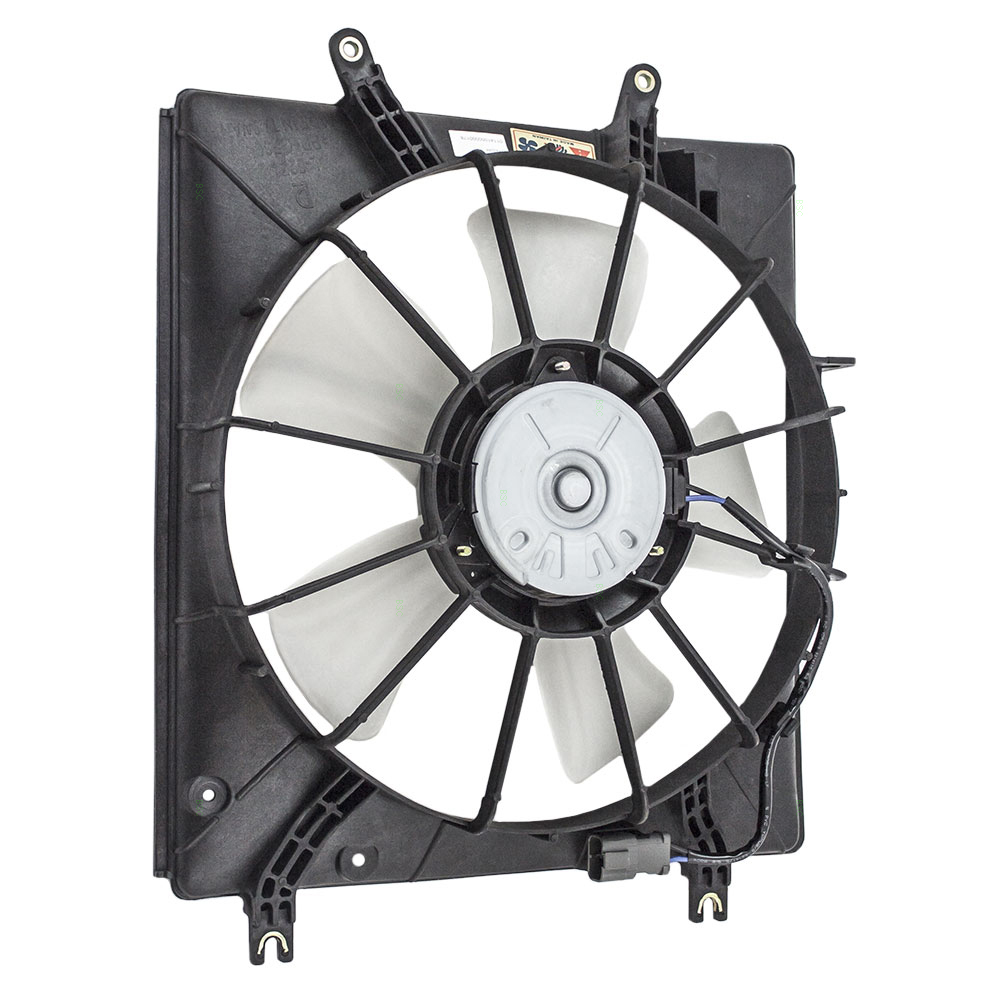 04 05 06 07 08 Acura TL Radiator Cooling Fan Motor Shroud
