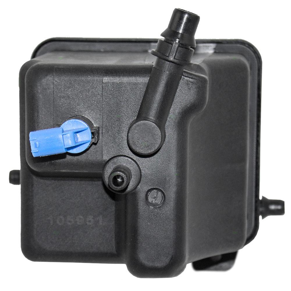 Bmw X5 Land Rover Range Coolant Overflow Tank Recovery Bottle Engine Expansion Reservoir W Sensor