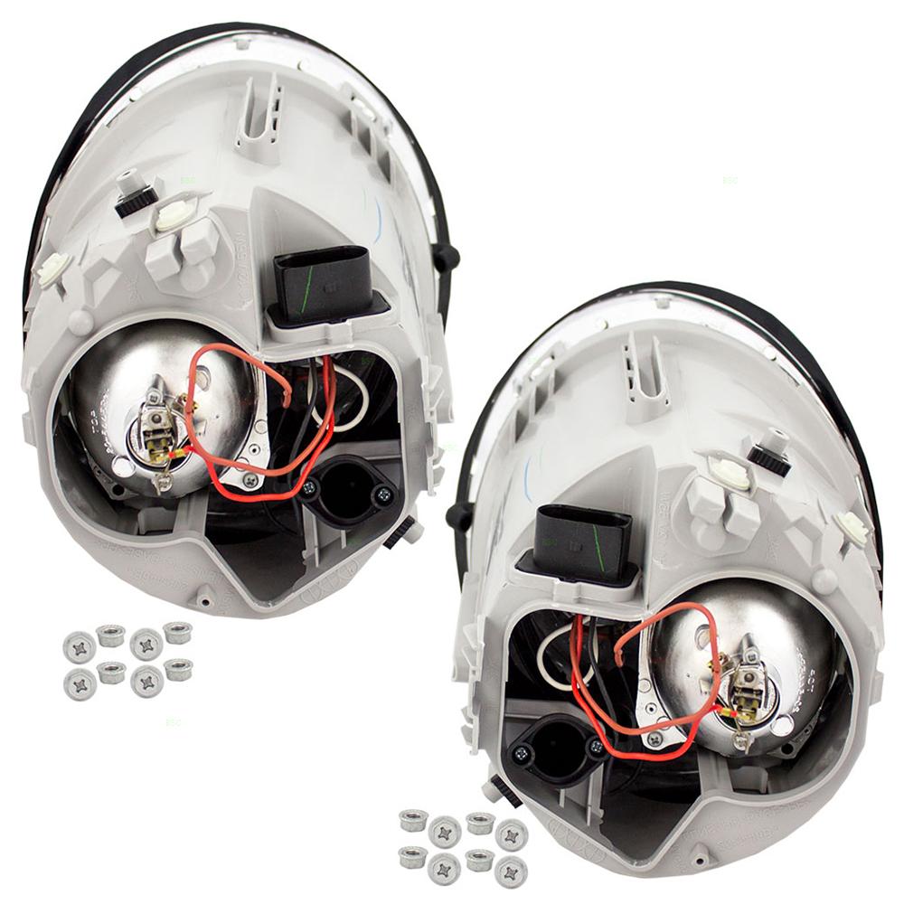 autoandartcom   volkswagen vw beetle turbo   pair set halogen headlight headlamp lens
