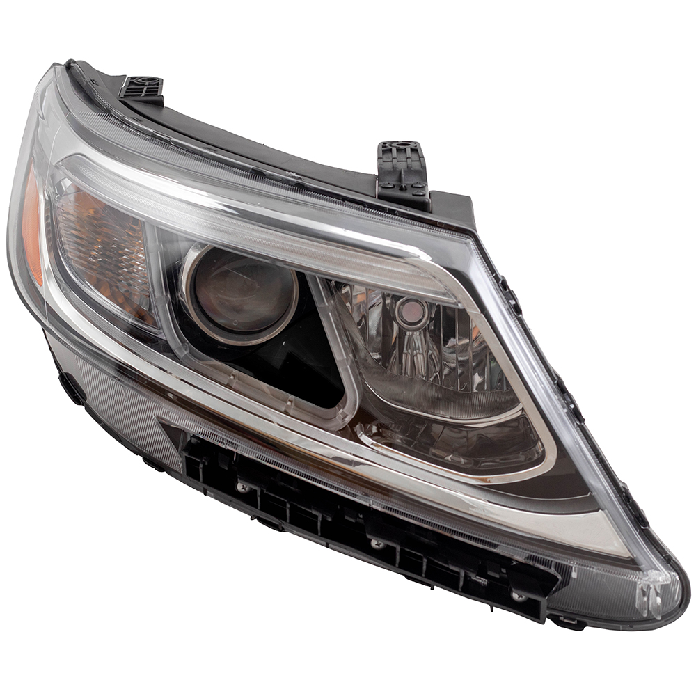 Halogen Headlight Assembly for 2014-2015 Kia Sorento Drivers Lamp 921011U500