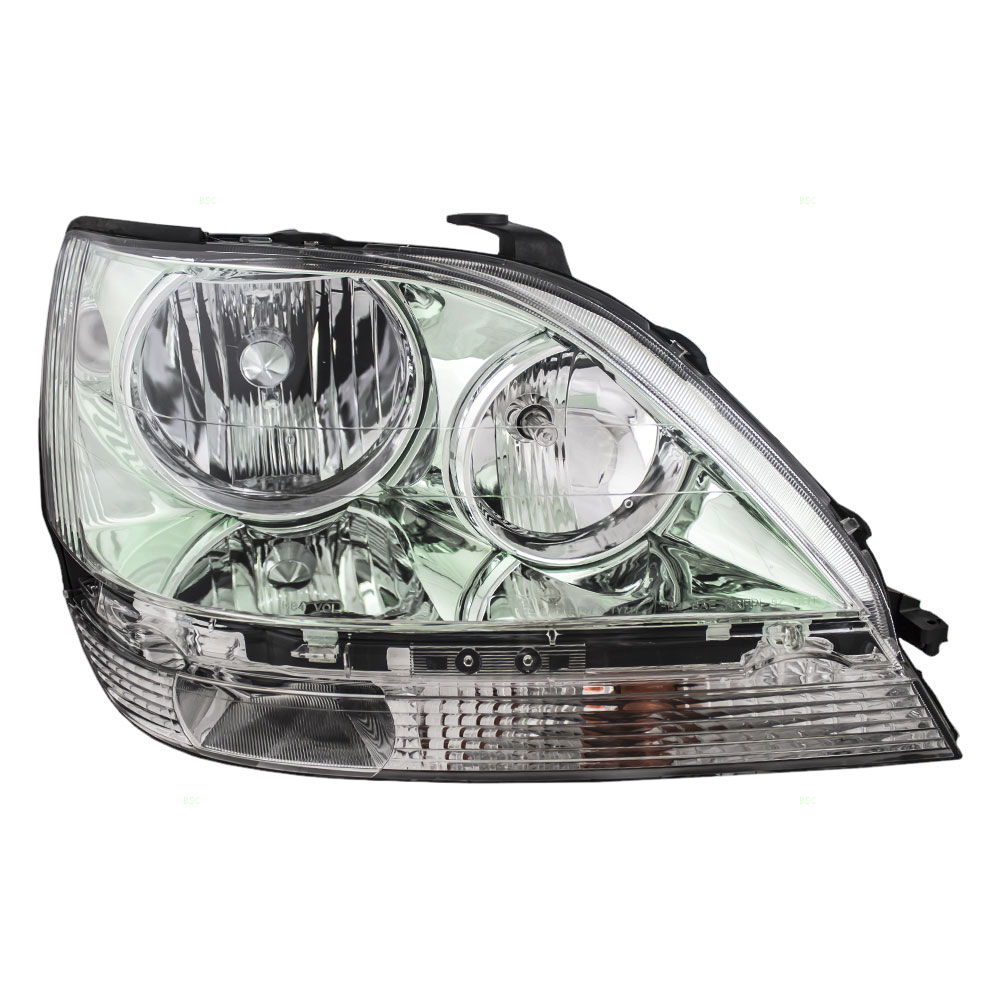 99 03 Lexus RX300 Passengers Halogen Combination Headlamp Headlight Assembly