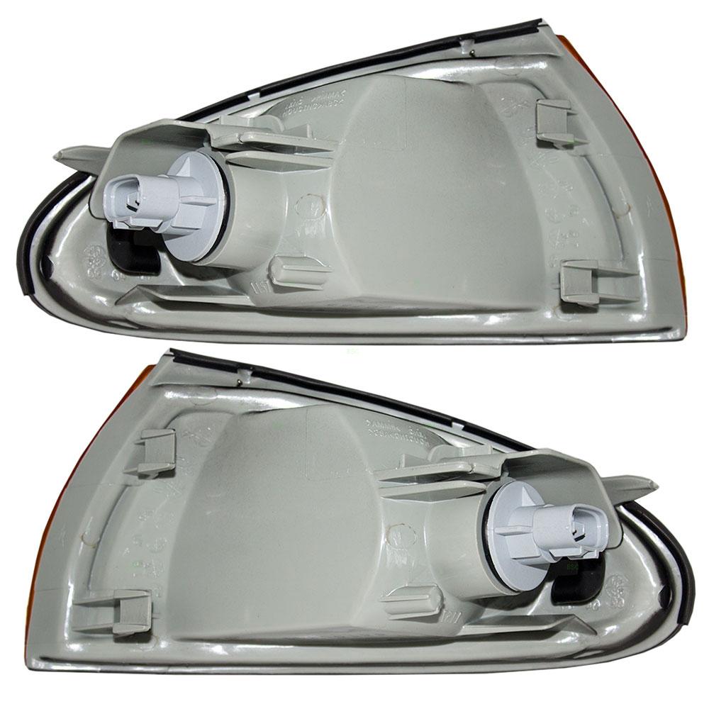 Eagle Summit Dodge Plymouth Colt Mitsubishi Mirage Set Of Corner Fog Lights Wiring Diagram Park Signal Marker