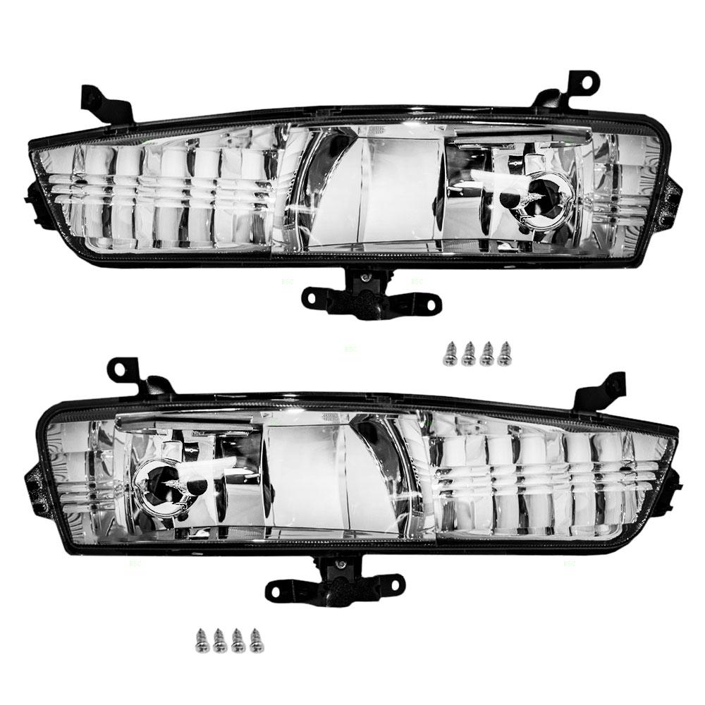 Autoandart Com 06 11 Hyundai Accent New Pair Set Fog