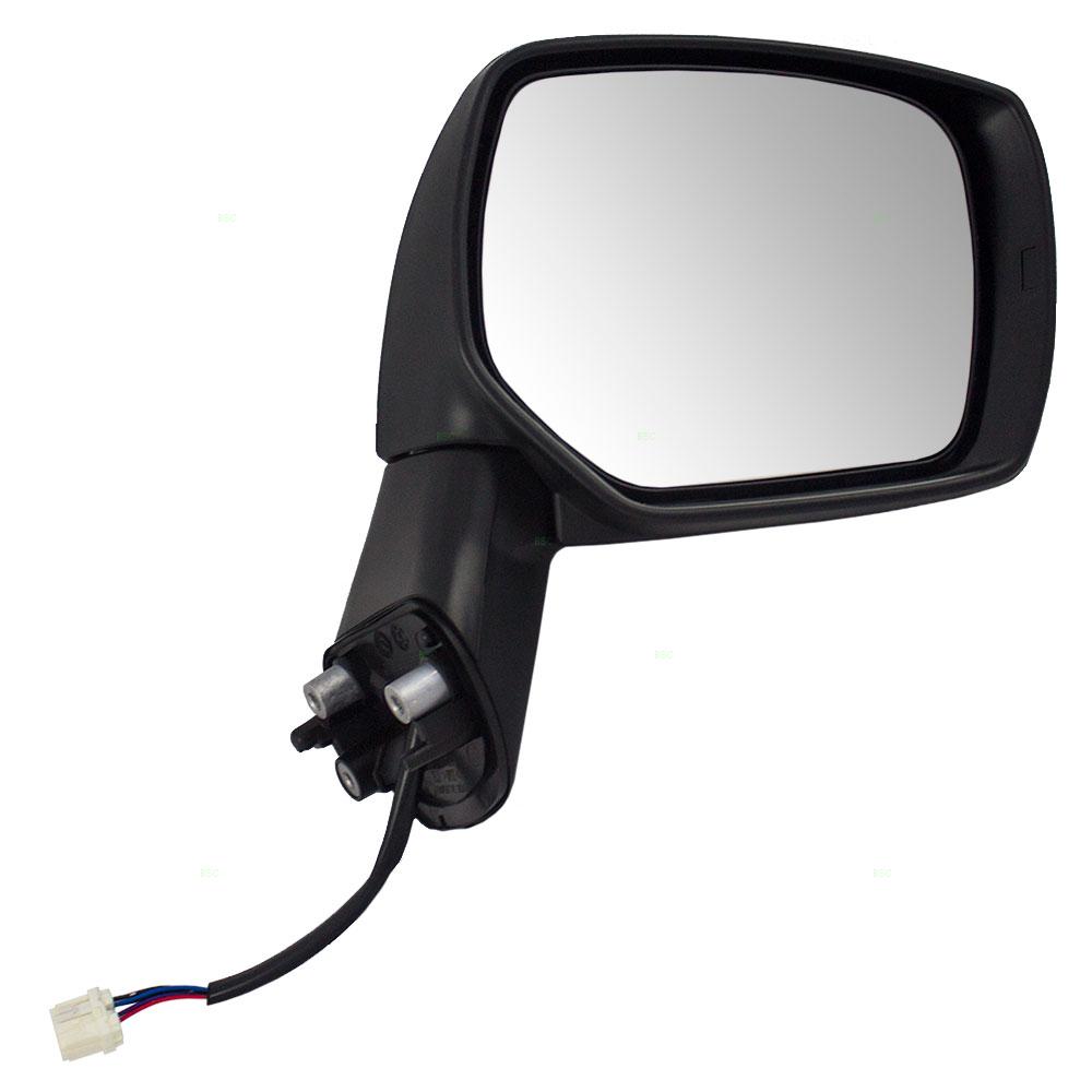 12-14 Impreza Power Heated w//o-Signal Rear View Door Mirror Right Passenger Side