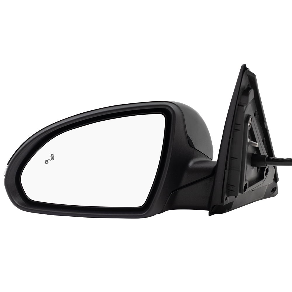 Drivers Power Side View Mirror Heated Signal Replacement for Kia 876101U060