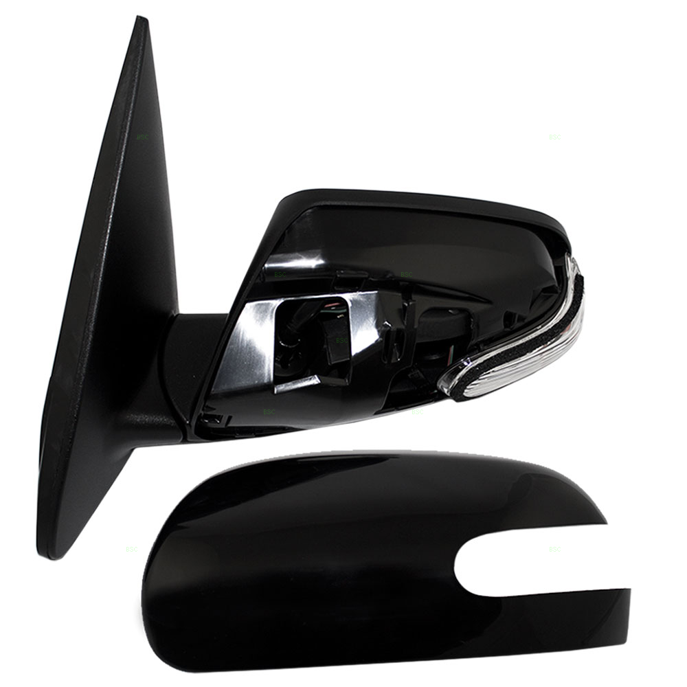 Autoandart Com 10 Kia Forte New Drivers Power Side View Mirror Glass Housing Heated Signal