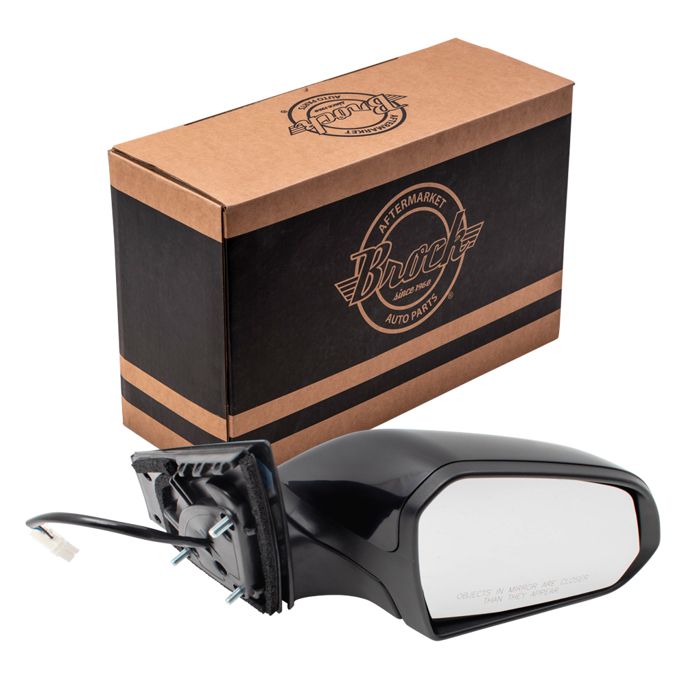 Power Side View Mirror Drivers Heated w// Spotter Glass for 15-19 Hyundai Sonata