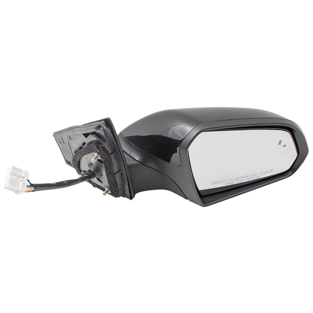 For 15-19 Sonata Rear View Door Mirror Power Heated w//Spotter Glass Driver Side