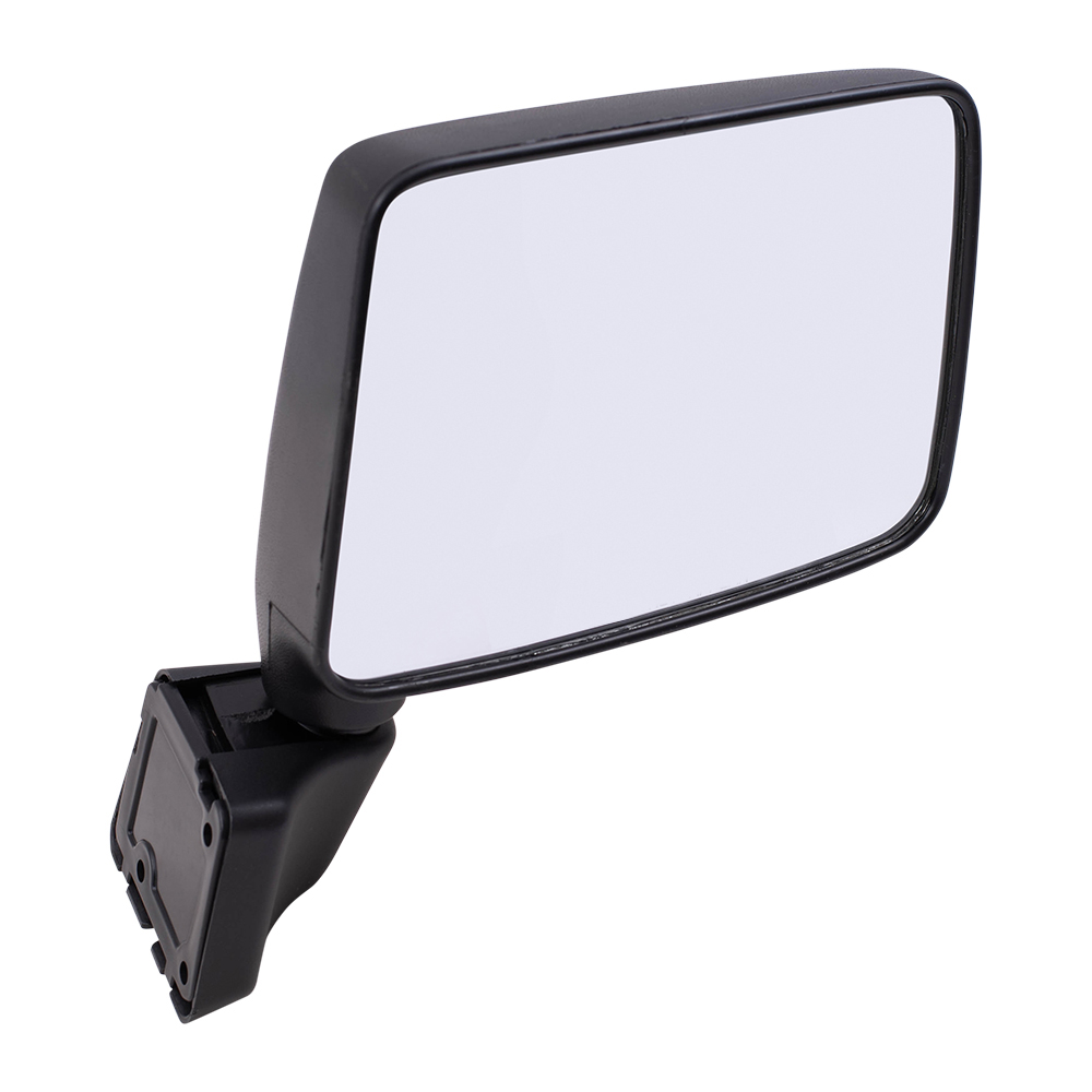 Suzuki TS90 TS100 TS125 TS185 TS200 TS400 8mm Chrome Steel Mirror Rectangle Pair