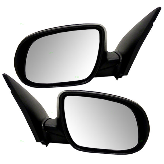 NEW RIGHT POWER MIRROR BLACK  FOR 2010-2011 HYUNDAI ACCENT HY1321172