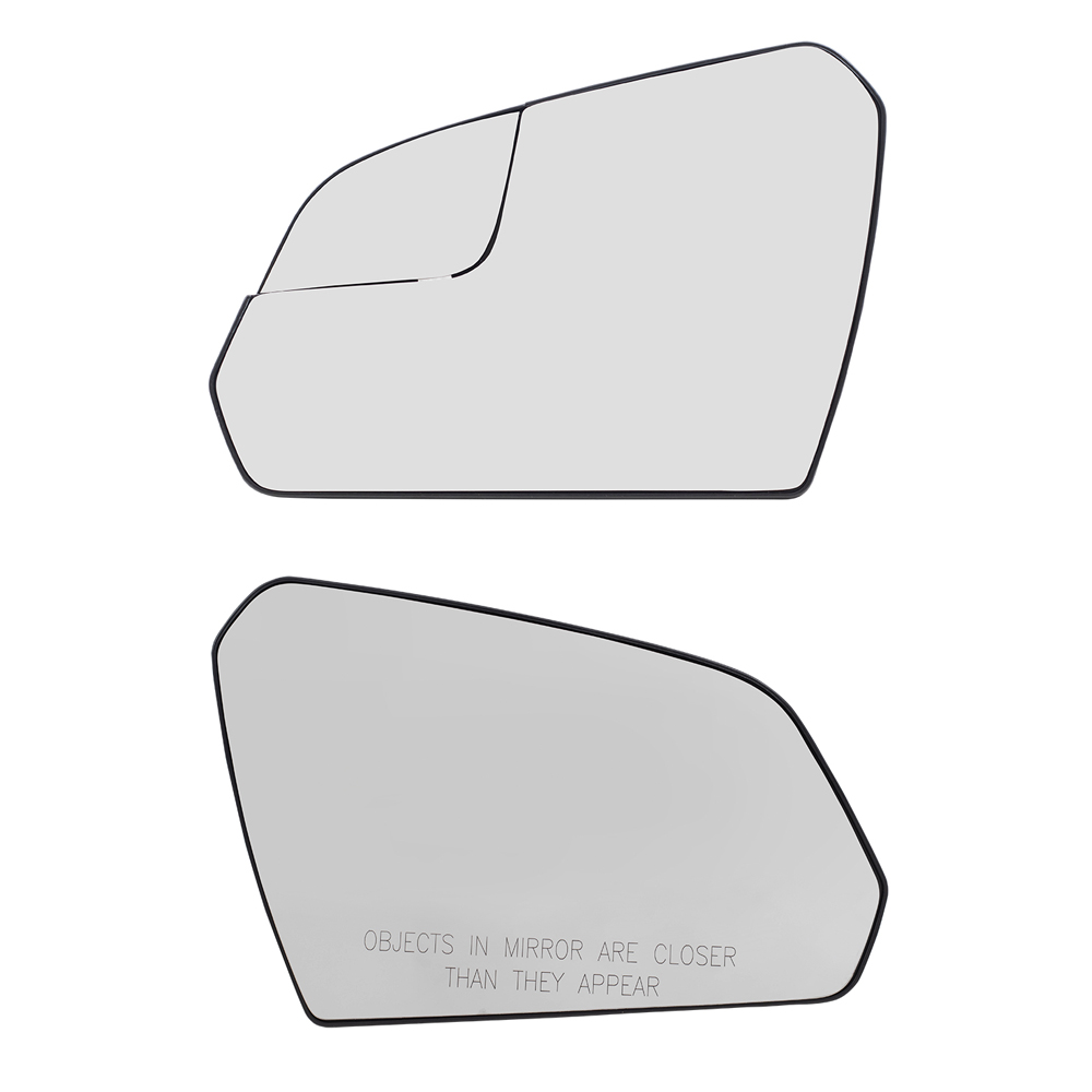w//o BSDS Traverse Driver Side Heated Replacement Glass w//backing plate LH