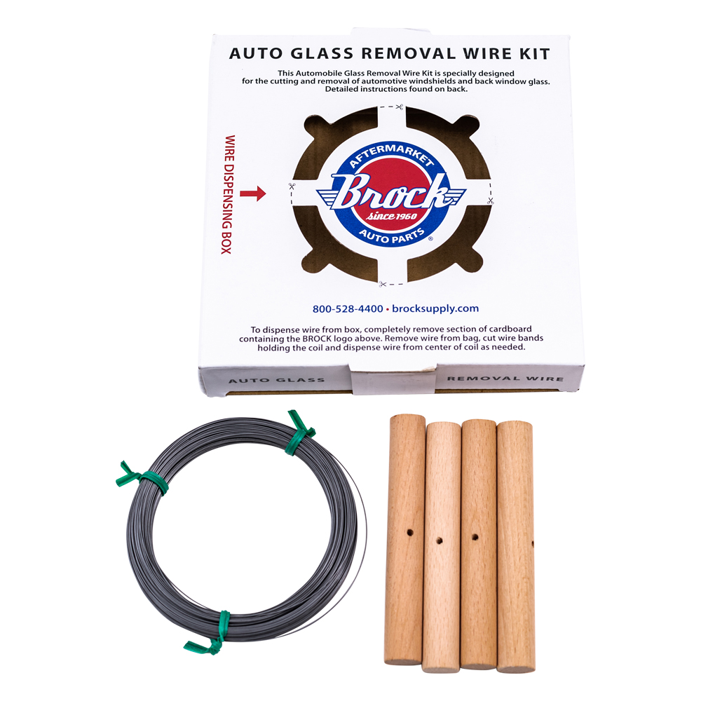 Brock Supply - 1/4# (213\') WINDSHIELD AUTO GLASS REMOVAL WIRE KIT ...