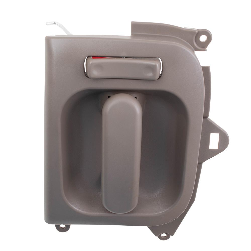 Brock Supply 02 05 Kia Sedona Inside Door Handle Beige Sliding Door Rh