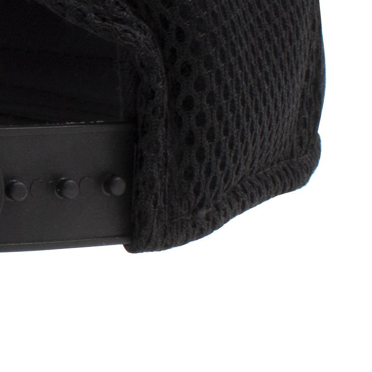 54b51b685 New Era Brock Logo 9FORTY Black Baseball Cap Snapback Back Mesh Style  Adjustable Hat Pre-Curved Bill Brim