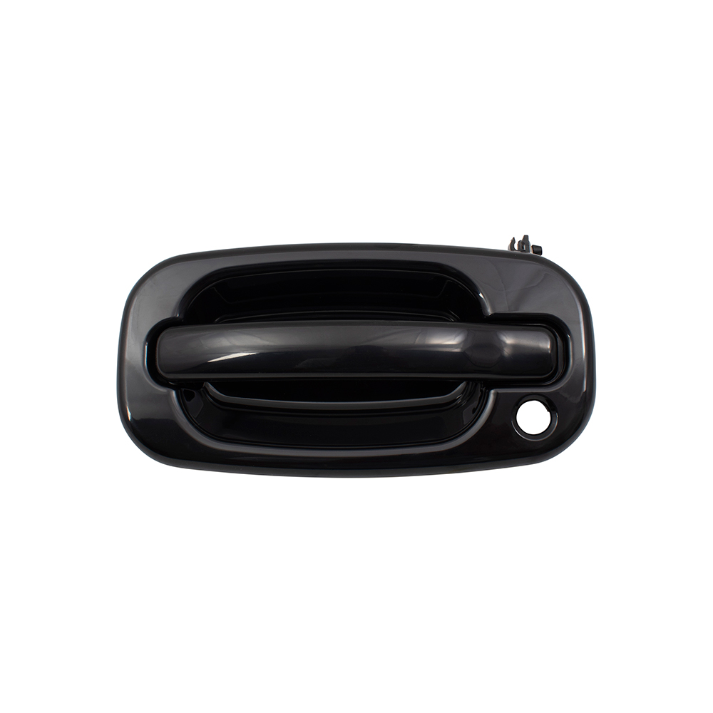 Brock Supply 99 06 Gm Truck Outside Door Handle Paint To Match Black Front Lh W Keyhole 07 Gm