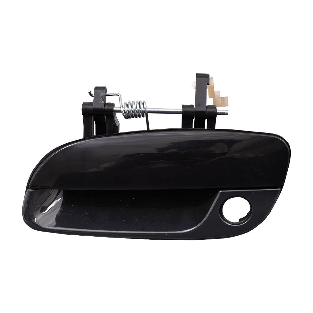 01 06 hyundai elantra drivers front outside door handle w. Black Bedroom Furniture Sets. Home Design Ideas