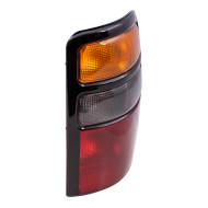04-06 Chevy Suburban Tahoe GMC Yukon / XL & Denali New Passengers Taillight with Amber Signal Lens & Black Housing