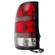 07-10 GMC Sierra Denali Pickup Truck Drivers Taillight Assembly