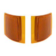 Chevrolet Blazer Suburban Pickup Truck Tahoe New Pair Set Upper Signal Side Marker Light Lamp Unit