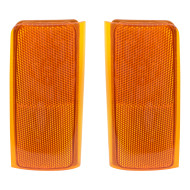 Chevrolet Blazer Suburban GMC Yukon Tahoe Pickup Truck SUV New Pair Set Signal Side Marker Light Lamp Unit