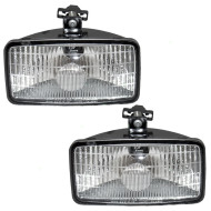 GMC Chevrolet Blazer Tahoe Pickup Truck New Pair Set Fog Light Lamp Housing Assembly SAE