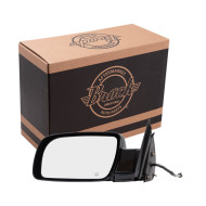 Cadillac Chevrolet GMC Pickup Truck SUV New Drivers Power Side View Mirror Glass Housing Heated