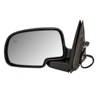 Cadillac Chevrolet GMC SUV Pickup Truck New Drivers Power Side View Mirror Glass Housing Heated Gloss Cap
