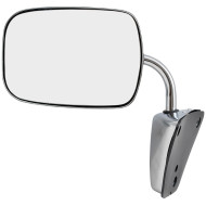 Chevrolet Blazer Pickup Truck Suburban Van GMC Jimmy New Manual Side View Mirror Glass Housing Low Mount Stainless Steel