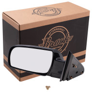 Blazer Tahoe Suburban Pickup Truck Yukon New Drivers Manual Side View Mirror Glass Housing Standard Type Plastic Base