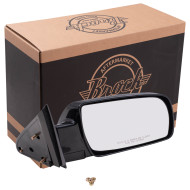 Blazer Tahoe Suburban Pickup Truck Yukon New Passengers Manual Side View Mirror Glass Housing Standard Type Plastic Base