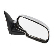 99-07 GM Pickup Truck SUV New Passengers Performance Upgrade Chrome Manual Mirror Glass Housing Assembly