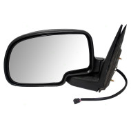Cadillac Chevrolet GMC Pickup Truck SUV New Drivers Power Side View Mirror Glass Housing with Cap Assembly