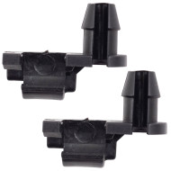 82-03 GM Various Models Pickup Truck SUV Van New Pair Set Outside Rear Door Handle Lock Rod Clip