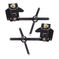 77-91 Chevrolet GMC Suburban Jimmy Pickup Truck Blazer SUV New Pair Set Front Manual Window Lift Regulator