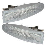96-00 Chrysler Town & Country Van New Pair Set Signal Side Marker Light Lamp Housing DOT