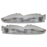 96-00 Chrysler Town & Country Van New Pair Set Park Signal Front Marker Light Lamp Housing Assembly DOT