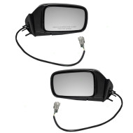 92-95 Dodge Plymouth Chrysler Van Set of Side View Power Mirrors