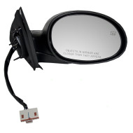 00-01 Dodge Plymouth Neon New Passengers Power Side View Mirror Glass Housing Heated Textured Assembly