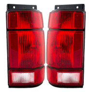 91-94 Ford Explorer SUV New Pair Set Taillight Taillamp Lens Housing Assembly DOT