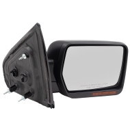 09-14 Ford F-150 Pickup Truck Passengers Side View Power Mirror Heated Signal Memory Reflector