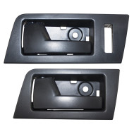 Ford Escape Mazda Tribute Mercury Mariner & Hybrid New Drivers Set Front w/ Rear Inside Interior Black Door Handle