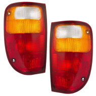 05-07 Ford Ranger STX 01-07 Mazda Pickup New Pair Set Taillight Taillamp Lens Housing DOT
