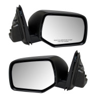 08-11 Mazda Tribute SUV New Pair Set Power Side View Mirror Glass Housing Heated Assembly