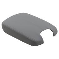 08-12 Honda Accord New Gray Leatherette Center Console Armrest Repair Lid Cover w/ Plastic Plate