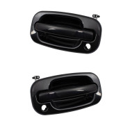 Cadillac GMC Chevrolet Pickup Truck SUV New Pair Set Front Outside Exterior Door Handle w/ Keyhole