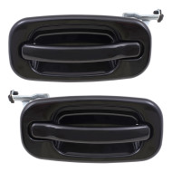 GMC Cadillac Chevrolet Pickup Truck SUV New Pair Set Outside Outer Rear Door Handle Assembly